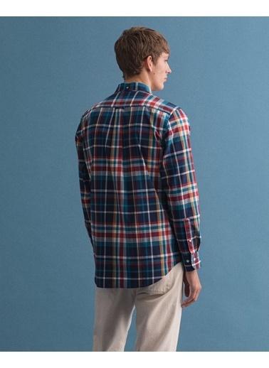 Gant Erkek Regular Fit Tech Prep Gömlek Mavi